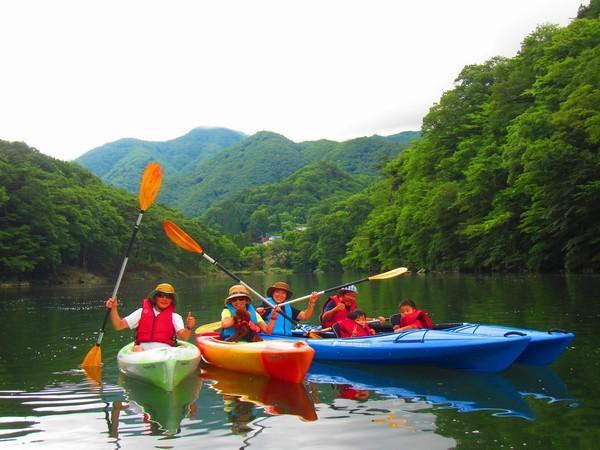 【カヌー】【体験】川治温泉でカヌーを体験しよう